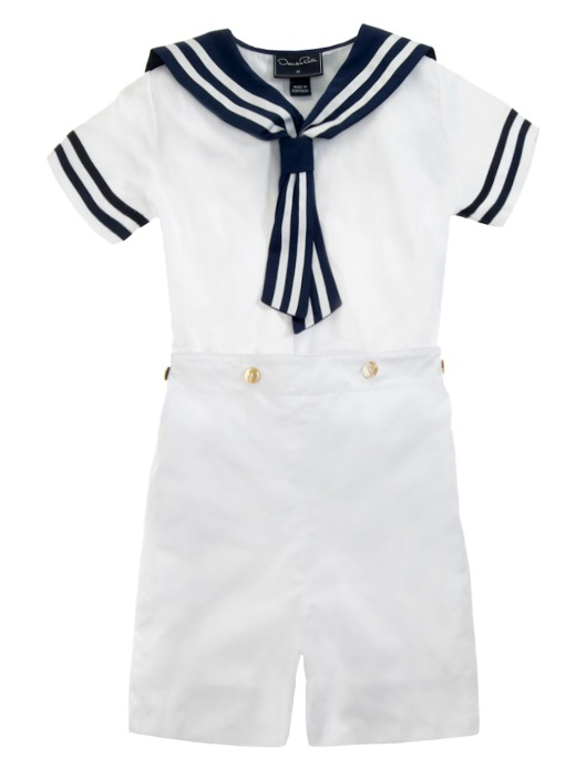 Boys Sailor Romper -- $117