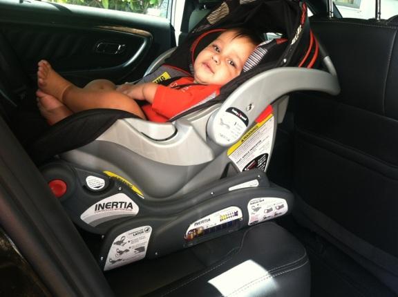 Inertia Car Seat