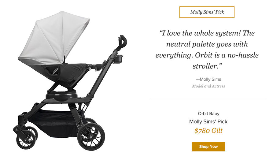 Gilt   Orbit Baby G3 Stroller - TheNewYorkMom
