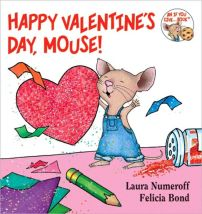 Mouse makes valentines for all his friends in this sweet book.